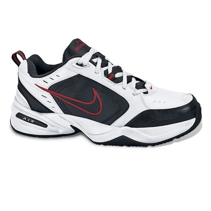 Nike Air Monarch IV Men's Cross-Training Shoes, Size: 11.5 Wide, White