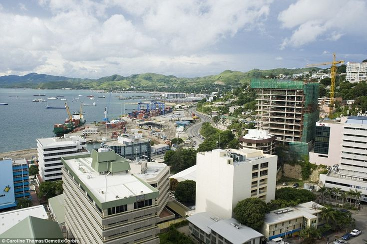 Papua New Guinea's capital city, Port Moresby, is known for its lawlessness and frequent g...