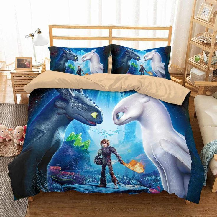 3d Customize How To Train Your Dragon Bedding Set Duvet