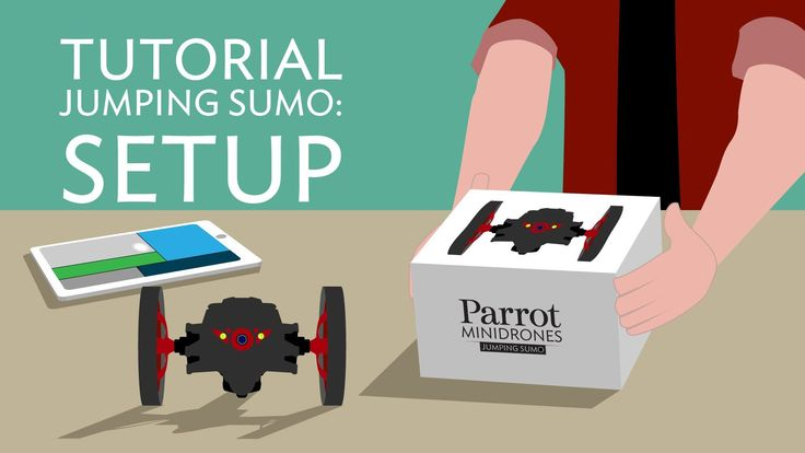 Parrot Jumping Sumo - Tutorial #1 - Setup #Parrot #Drone
