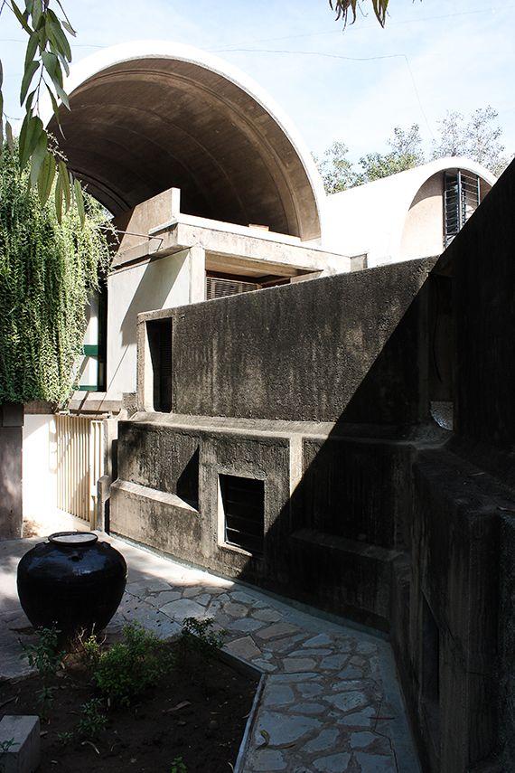 Sangath, Ahmedabad - Balkrishna Doshi