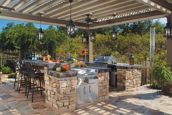 Exquisite Outdoor Kitchen Ideas For Perfect Family Gathering Horror Underground Outdoor Kitchen Patio Backyard Kitchen Outdoor Kitchen Design