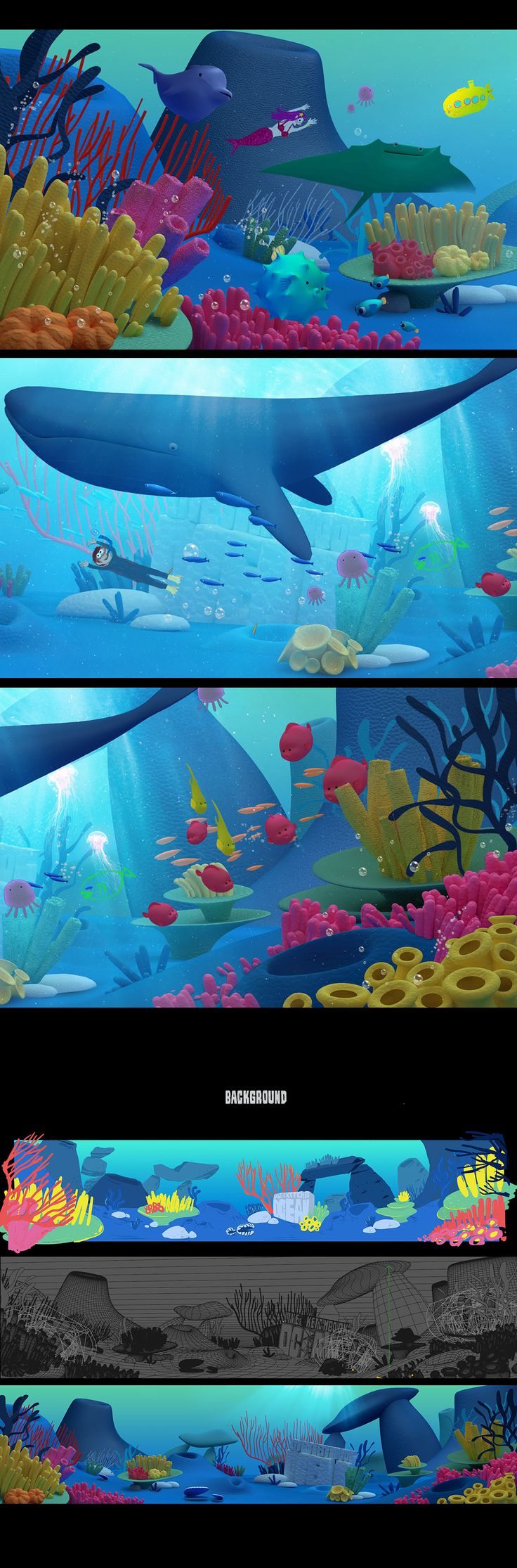 Sketchbook Ocean on Behance