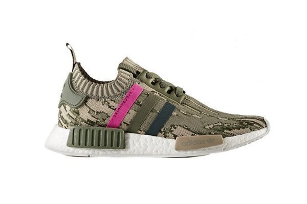 new styles 3efd0 3422c adidas NMDR1 Primeknit Gets a Camo Makeover with a Pop of Pink