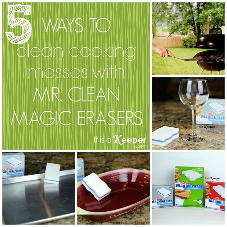 5 Favorite Uses for Mr. Clean Magic Erasers | It's a Keeper  #mrcleanmillion #DDDivas  #sponsored