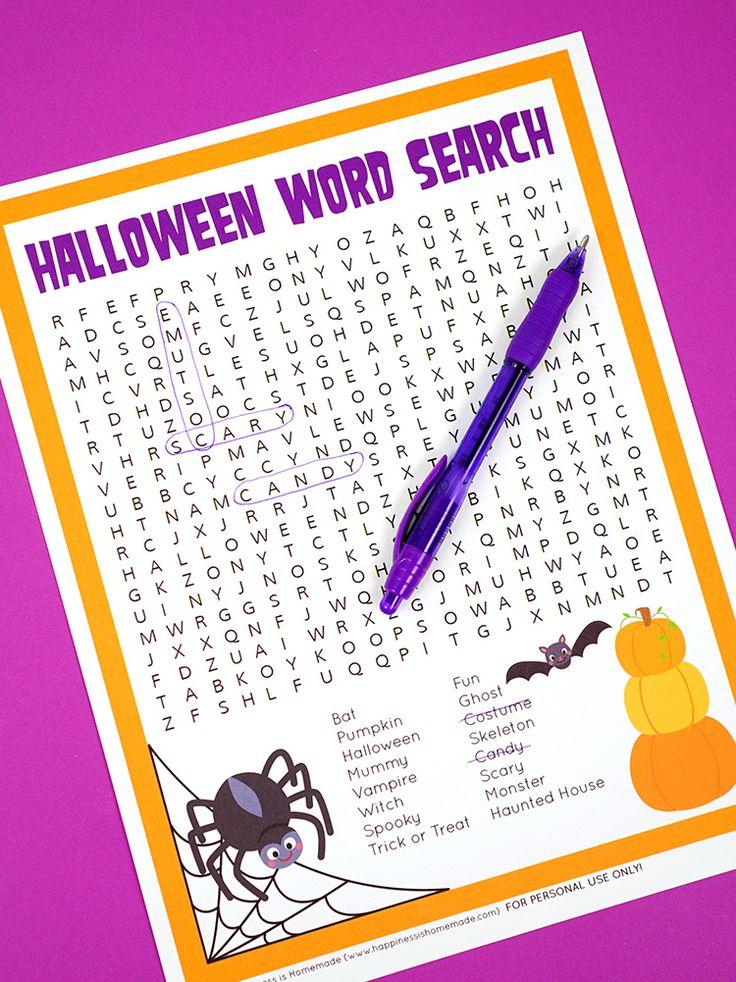 Großartig 3. Klasse Halloween Handwerk Zeitgenössisch - Druckbare ...