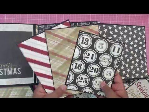 Part 5 - 8 x 8 mini album - Hey guys!!! Here is the re-creation of the Christmas Mini I made for a friend. Here is the original video: https://www.youtube.com/watch?v=2FAf32FdNPI Here i...