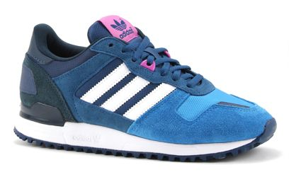 Adidas ZX 700 W blauwe lage sneakers