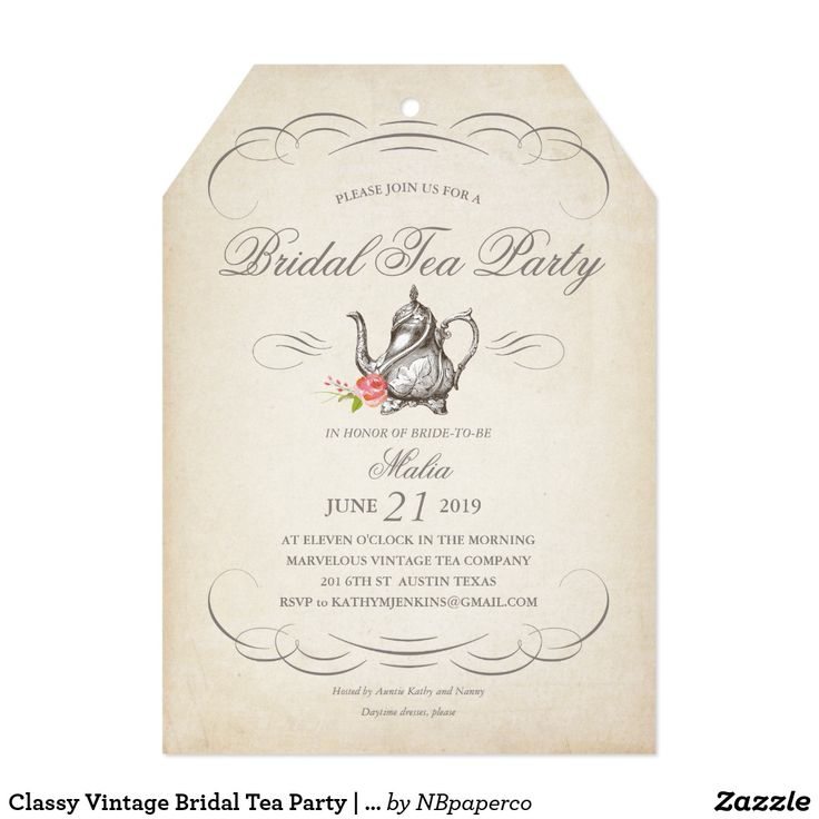 The 25+ best Tea party invitations ideas on Pinterest Afternoon - tea party invitation