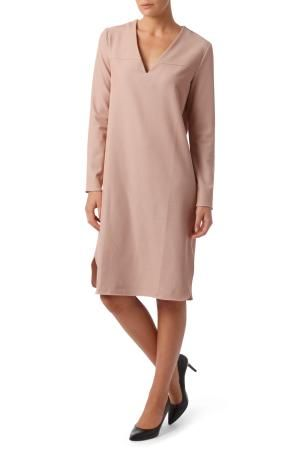 Tunic twill dress
