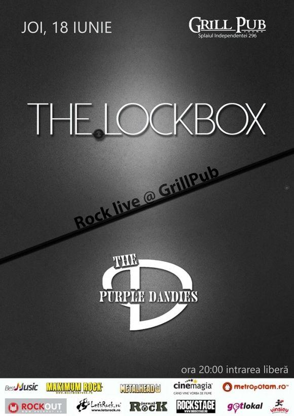 Concert The LockBox si The Purple Dandies in Grill Pub