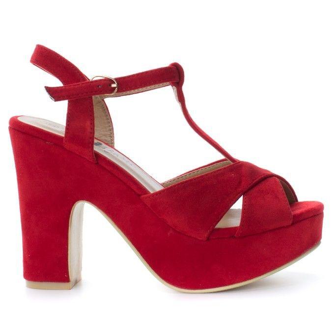 Chaussures Rouges Xti Pour Les Femmes 6Ty1jcCF