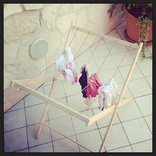 Stendino per bambini di legno: Giochi d'imitazione fai da te (ITA-ENG)