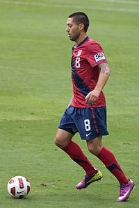 Clint Dempsey -  and he's a Texan y'all!