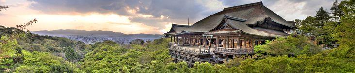Kiyomizudera Temple in Kyoto, Japan HDR