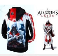 Wish | Assassin's Creed Desmond Style Hoodie cotton coat