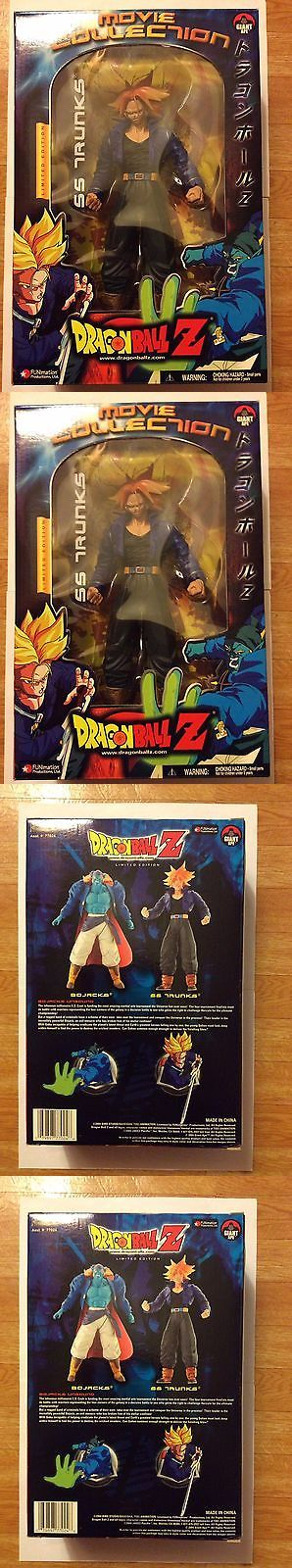 DragonBall Z 7117: Dragon Ball Z Limited Edition Movie Collection Series 9 Ss Trunks 9 Inch Figure -> BUY IT NOW ONLY: $32.98 on eBay!
