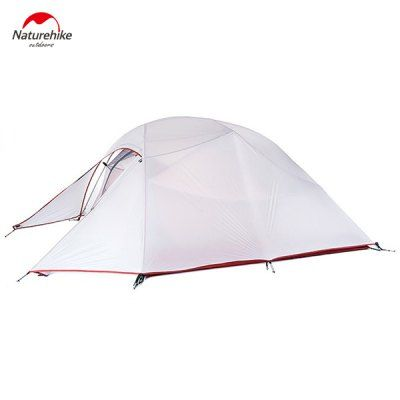 Naturehike Professional 20D 380T -  $109.99 (coupon: GBRUNP) Silicone Camping Ultraviolet - proof Waterproof Tent for 3 - 4 Persons LIGHT GRAY #Camping, #Tent, #палатка, #Naturehike, #gearbest