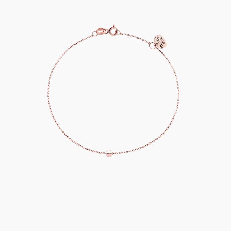 PETIT KULKA - bransoletka z różowego złota