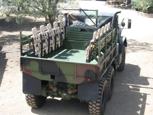 Loaded nearly new depot overhauled m931a2 w/removable mrap seats and cargo bed | Semi trucks ...