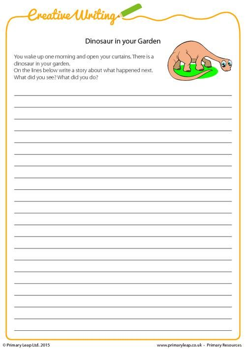 Creative Writing For Primary 2