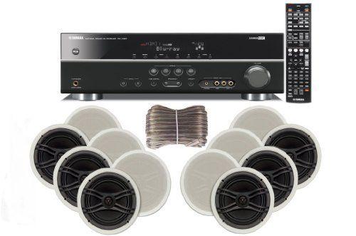 Yamaha 3d ready 5 1 channel 500 watts digital home theater for Yamaha sound dock
