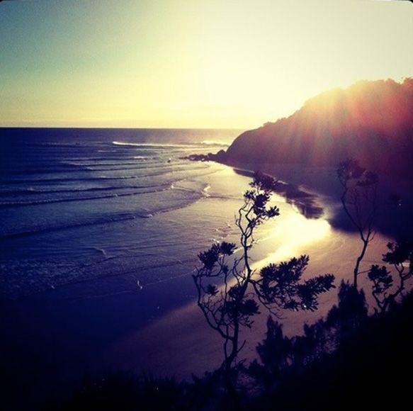 Byron Bay at sunrise
