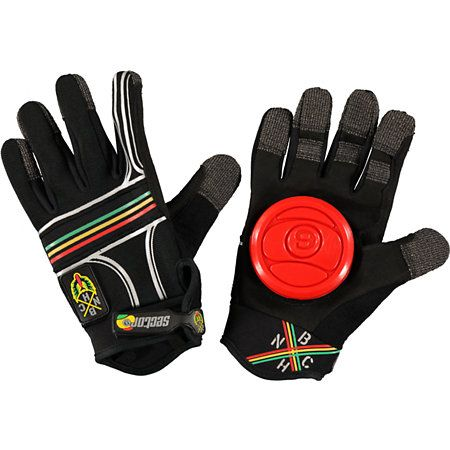 Sector Nine BHNC slide gloves are for some intense downhill riding. With the velcro on slide pad allowing you to maintain balance and pull tight corners at the highest speeds. Pick your line and thrash it with these bad boys.Notice: Gloves come