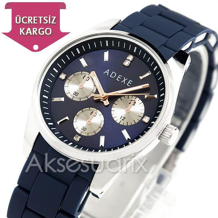 Bayanların severek ve rahat kullandığı muhteşem tasarımlar Adexe Bayan Kol Saatleri modelleri için http://www.aksesuarix.com/bayan-kol-saati