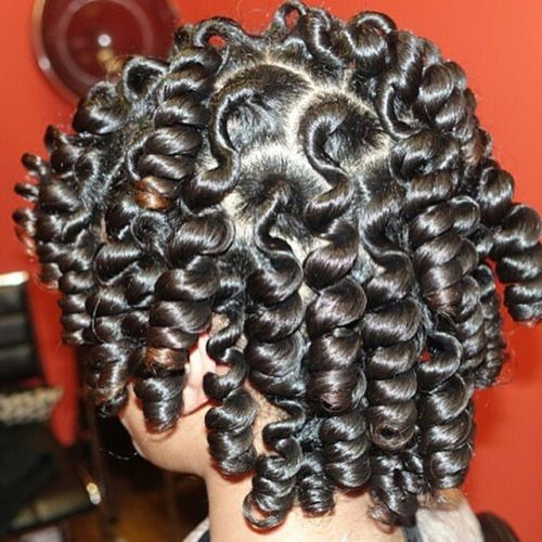 Bantu knots- Style prep with smooth infusion, glossing straightener, and finish with brilliant spray on shine. Use rubber bands to hold.