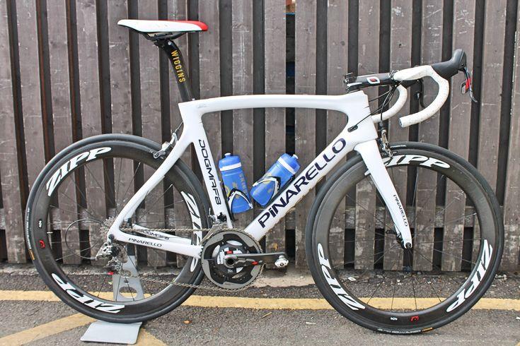 Sir Bradley Wiggins, pro bike, Pinarello Dogma F8, http://roadcyclinguk.com/gear/pro-bike-sir-bradley-wiggins-new-team-wiggins-pinarello-dogma-f8.html Team Wiggins, 2015, Tour de Yorkshire, pic: Colin Henrys/Factory Media