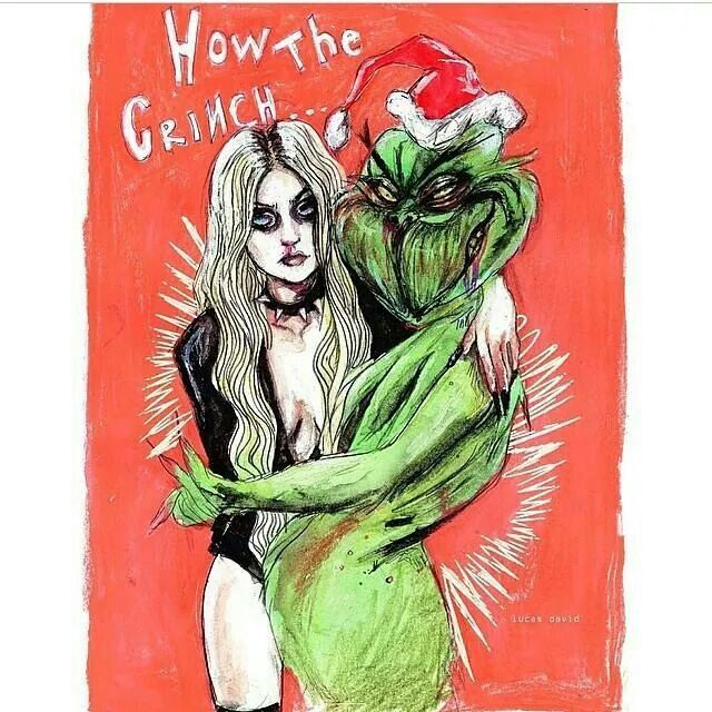 Taylor Momsen and The Grinch