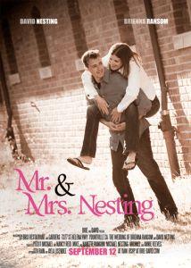 Esküvői meghívó, mint mozi plakát