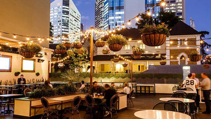 Rooftop bars in Brisbane