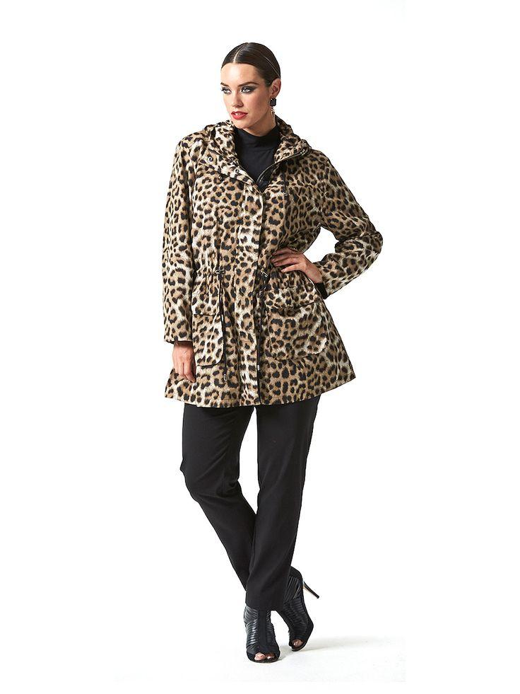 Leopard Rain Jacket