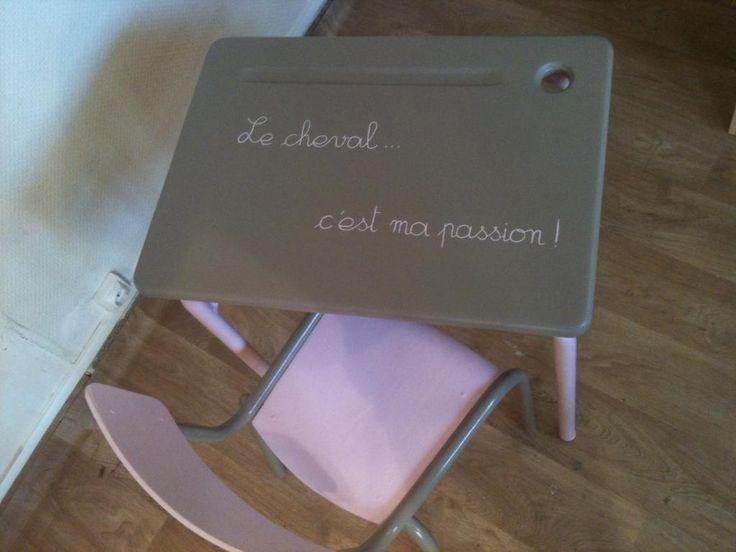Les 110 meilleures images propos de diy meubles sur for Relooker bureau ecolier