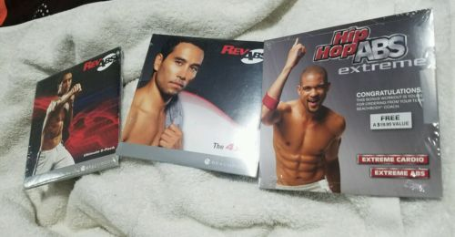 Fitness DVDs 109130: Beachbody Revabs.. 4X4..8 Pack..Hip Hop Abs Extreme..3 Dvd,S...New -> BUY IT NOW ONLY: $55 on eBay!