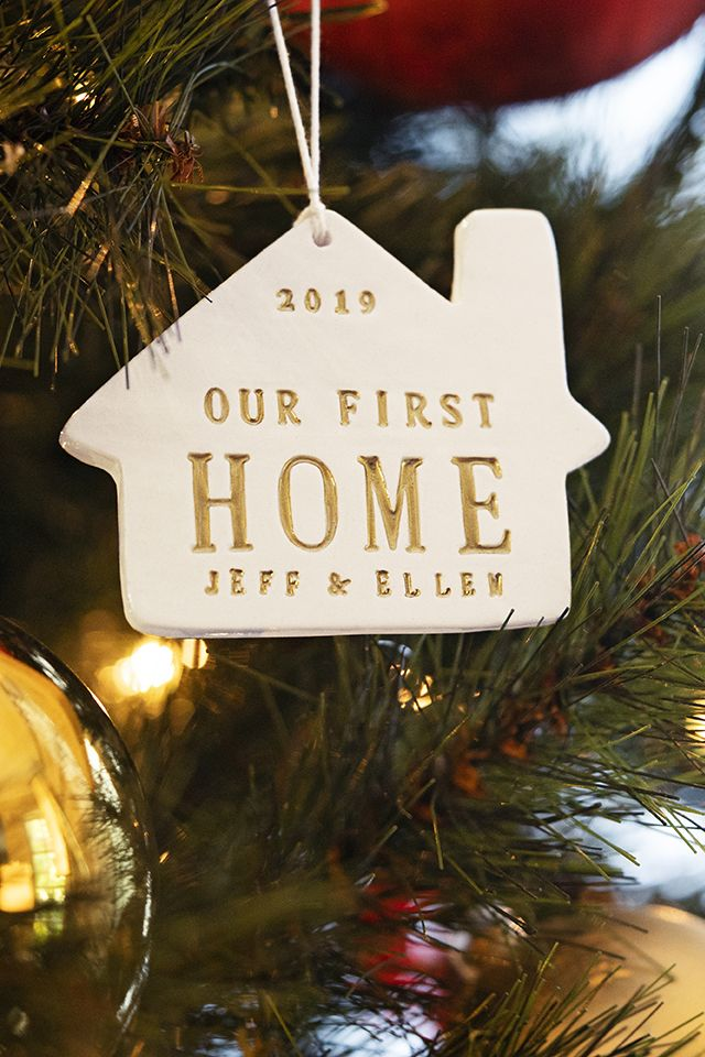 Personalized Christmas Ornament   Our First Home 2020, Our New