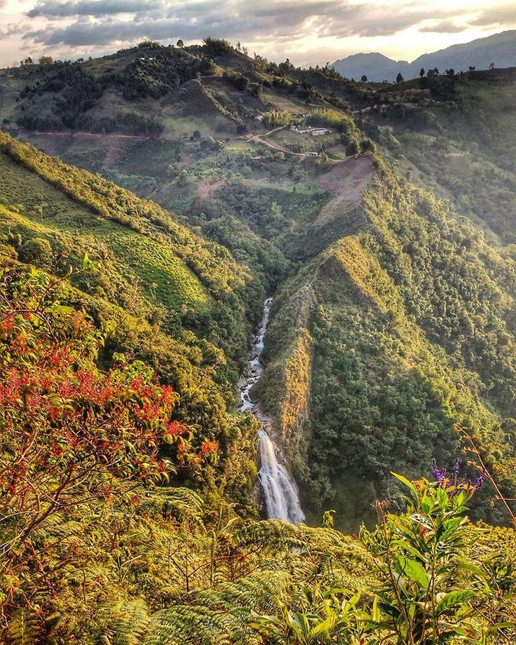 Salto del Buey, Colombia