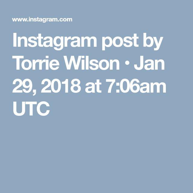 Instagram post by Torrie Wilson • Jan 29, 2018 at 7:06am UTC