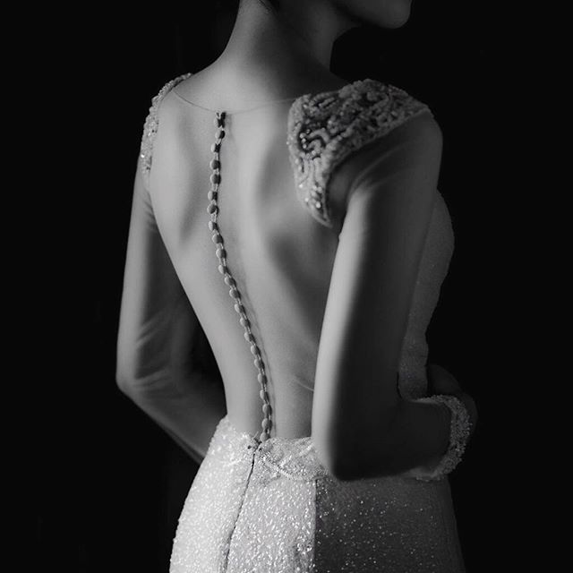"Another beautiful shot captured by Alex @puremotionphotofilm with our beautiful ""Kath"" gown @emeraldbridal •The Beautiful Sheer Back •Exquisite Detail •Stunning Beading . . #sydneybridal #sydneybride #brideideas #weddinggownideas #weddinggowndesigner #bridetobe2017 #weddinggowninspiration #2017wedding #lowbackweddingdress #sheerweddingdress #sheerweddingdress"