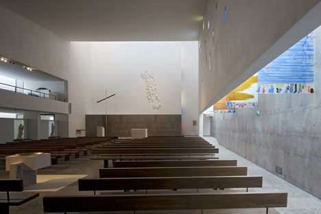 Notre Dame Rosary Church by ENIA Architects