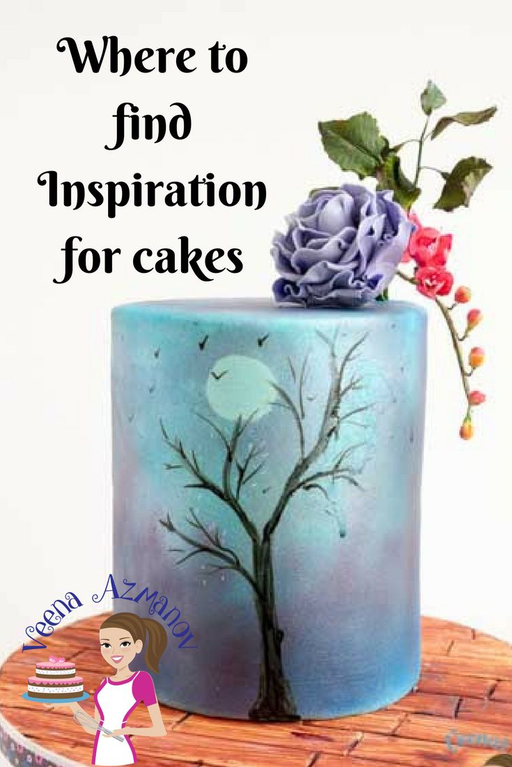 WHERE TO FIND INSPIRATION FOR CAKES?  Have you ever wondered where to find inspiration for cakes? Had it happened that you have a cake to make but have no clue where start? Where to look for cake ideas? How to design a cake? What colors to use for your cakes? I hope this post will help you with some answers.
