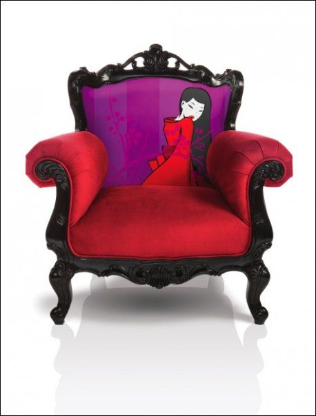 Noel Duigan Chair -- I'd love to design a room around this chair.