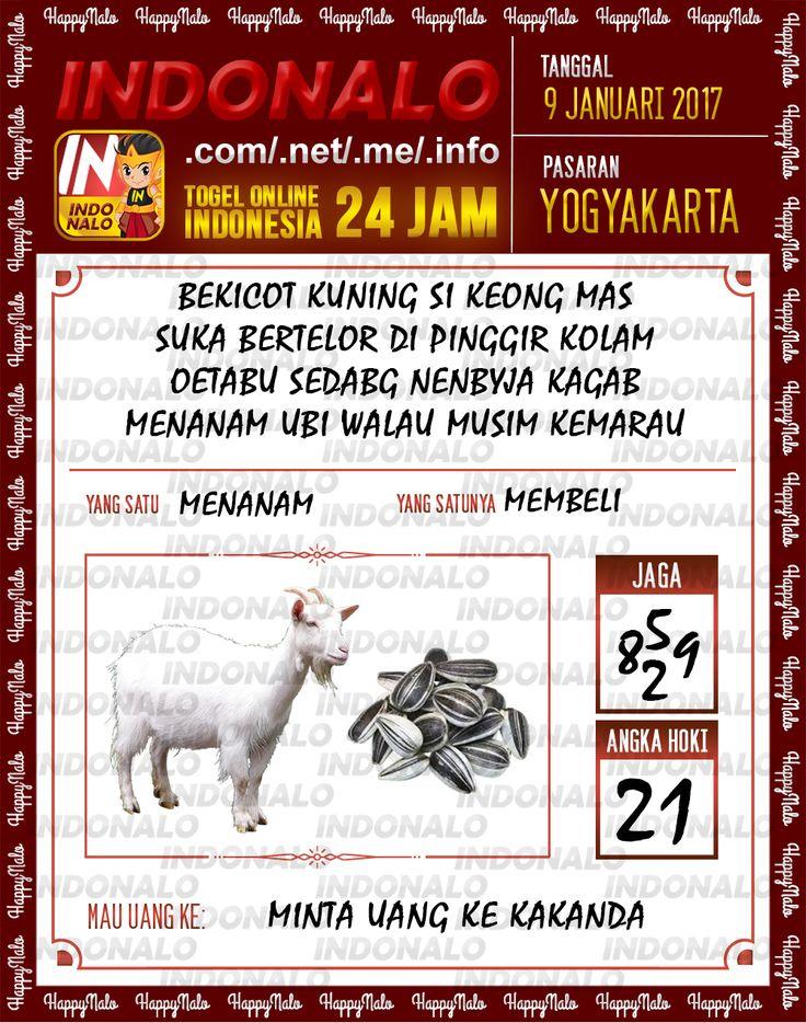 Kode Jaga 6D Togel Wap Online Live Draw 4D Indonalo Yogyakarta 9 Januari 2017
