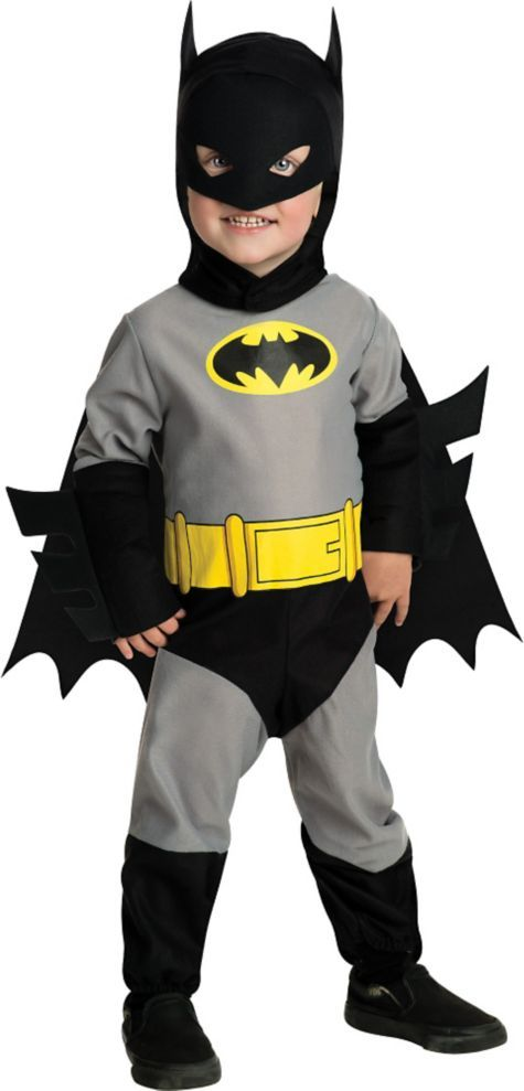 Toddler Boys Batman Costume - Classic Batman - Party City