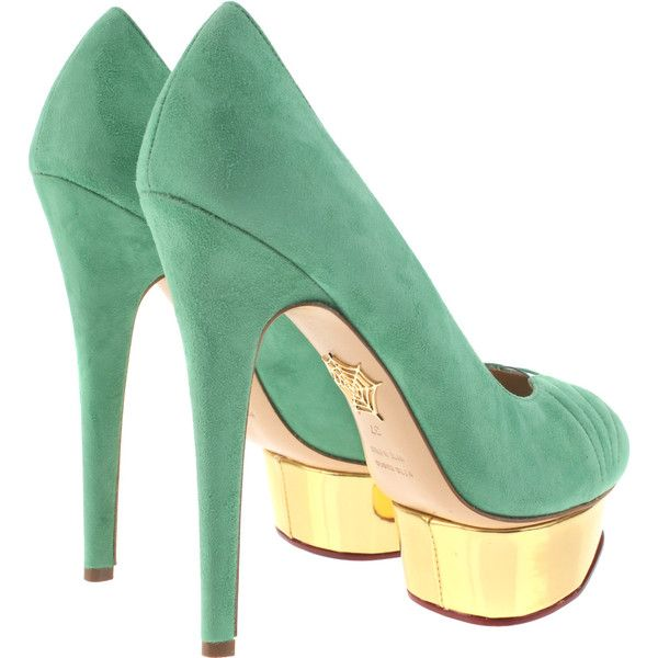 Charlotte Olympia Pumps: Heels Charlotte, Style, Green, Amazing Shoes, Beautiful High Heels, Pumps Shoes, Olympia Pumps, Shoes Shoes