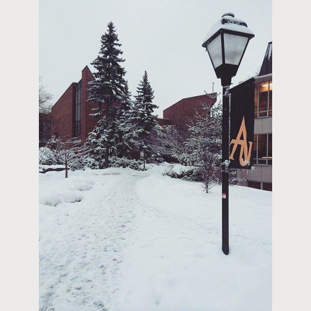 Photo Credit @cts4ever06  Pretty pretty #adelphi #snow ❄️