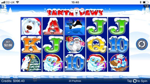 Santa Paws Slot Review | Microgaming