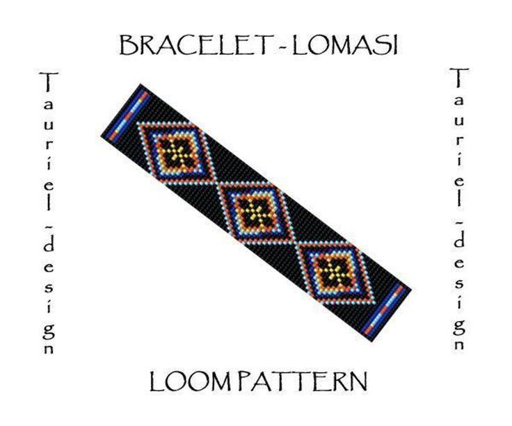 Lomasi - loom bracelet pattern   Craftsy